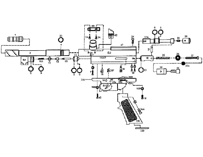 kingman spyder compact a gun diagram