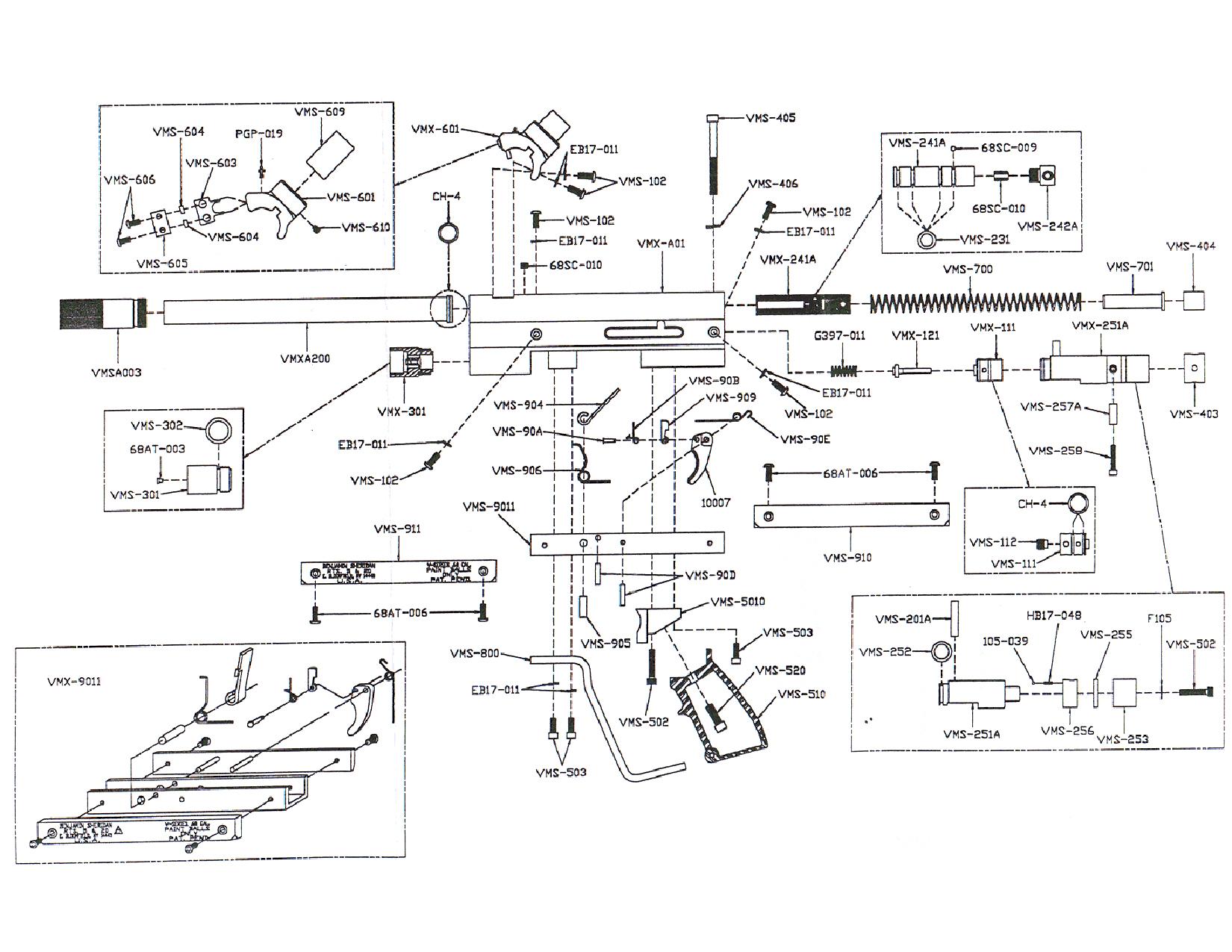 Empire Parts Diagram Illustration Of Wiring Diagrams Paintball Gun Replacement Rh Tippmannparts Com Echo Mini Gs