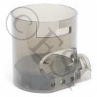 E-Z View Cyclone Feed Housing Kit with Body and Bottom Plate