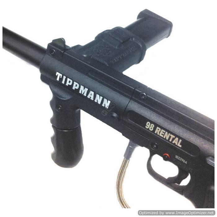 Tippmann Magazine Feed Conversion Adapter For 98 Custom Alpha Black