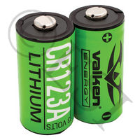CR123A Lithium Battery 2 Pack