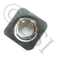 Nut - Square - Stainless Steel - 1/4-20