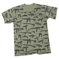 Guns Printed Tshirt
