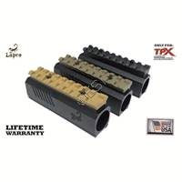 Aluminum Front Block with Picatinny Rail - [Tippmann TPX and TiPX Pistols]