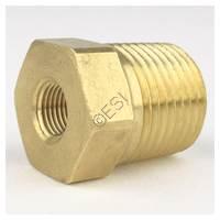 320 CGA Male Thread to 1/8 NPT Female Thread Adapter