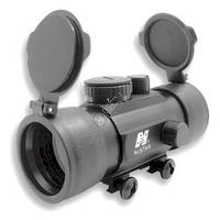 1x45 T-Style Red Dot Sight with Weaver Ring Mount