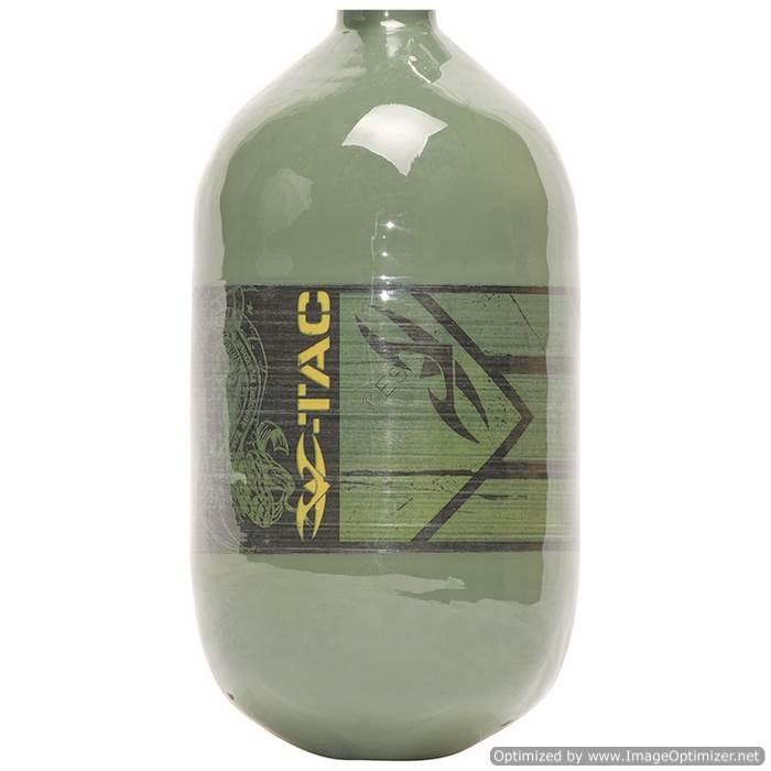 Valken 4500psi Bottle with no Reg - Olive Color