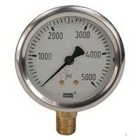 Liquid Filled Gauge - 5000psi