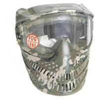 Elite Raptor Mask with Single Fog Resistant Lens