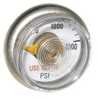 Micro Gauge 0-1500psi - 1/8th Inch NPT Post Mount