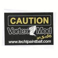 'Caution Vortex' Sticker