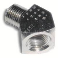 1/8th Inch NPT 45 Degree Gas Line Elbow