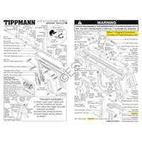 Tippmann 98 Custom Pro RT ACT Gun Diagram