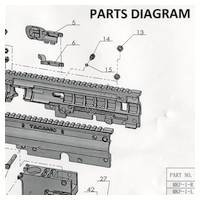Tacamo Magazine Kit MKP - Phenom Gun Diagram
