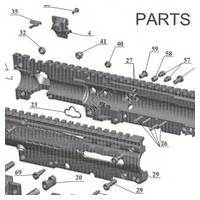 Tacamo Magazine Kit MKV-PS - Project Salvo Gun Diagram