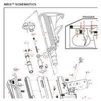 Kingman Spyder MRX 2012 Gun Diagram
