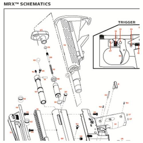 kingman spyder mrx 2012 gun diagram