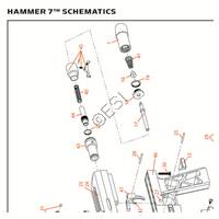 Kingman Spyder Hammer 7 2013 Gun Diagram