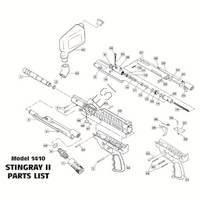 Brass Eagle Stingray Gun Diagram