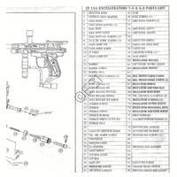 JT USA Excellerator 5.0 Gun Diagram