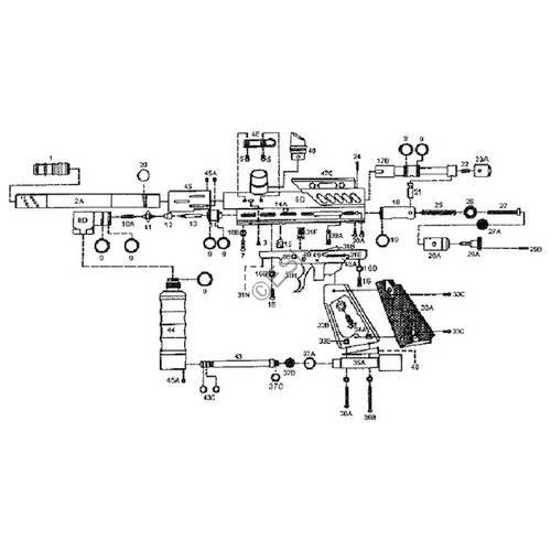 kingman spyder compact special edition gun diagram