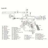 Kingman Spyder EM1 Gun Diagram