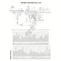 Kingman Spyder Electra ACS Gun Diagram
