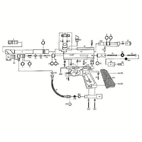 kingman spyder elite gun diagram