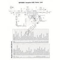 Kingman Spyder Imagine LED Gun Diagram