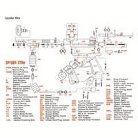 Kingman Spyder Xtra Gun Diagram