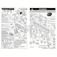 tippmann 98 custom e grip act gun diagram rh paintball parts com tippmann 98 custom internal diagram tippmann 98 custom trigger diagram