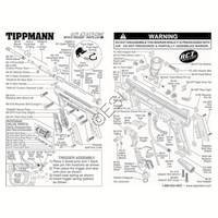 Tippmann 98 Custom E-Grip ACT Gun Diagram