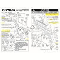 Tippmann 98 Custom Platinum Series Non-ACT Ultra Basic Gun Diagram