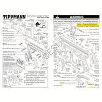 Tippmann 98 Custom Pro ACT Gun Diagram
