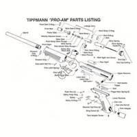 Tippmann Pro-Am Gun Diagram