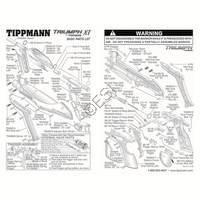 Tippmann Triumph XT Gun Diagram
