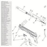 US Army Carver One Gun Diagram