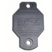 #86 End Cap Plate [SP1 Body] SP1126BLK