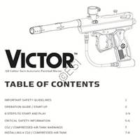 Kingman Spyder Victor 2012 Gun Manual