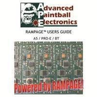 Tippmann 98 Custom Pro E APE Rampage Board V2 Manual