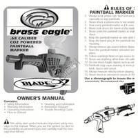 Brass Eagle Blade 02 Gun Manual