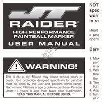 JT USA Raider Gun Manual