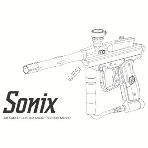 kingman spyder sonix 09 gun manual