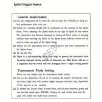 Kingman Spyder Sprint Frame Manual