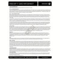 Smart Parts Vibe Gun Gases Info Sheet Manual