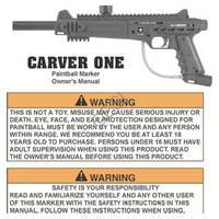 US Army Carver One Gun Manual