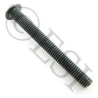 Screw - Hex - Button - Black 10-32