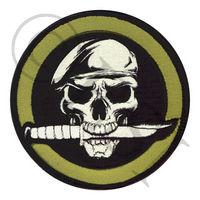 Skull & Knife Morale Patch