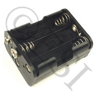 #06 6 Pack AA Battery Holder [Scion] 38804