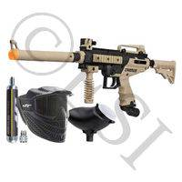 Cronus Paintball Gun Tactical Combat Power Pack with Raptor Mask and a 90g Co2
